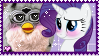 rarity x furby stamp by tsunderre