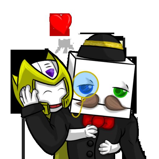 Soldjermon hugging Reginald