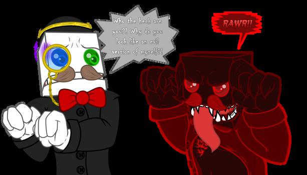 Maya scares Reginald