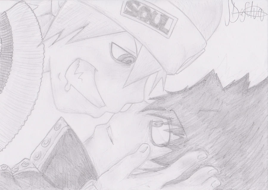 Soul Evans X Black Star Yaoi by EmoFefi