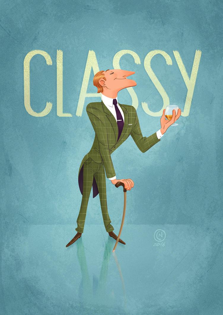 Classy Gentleman by ClaudioNaccari