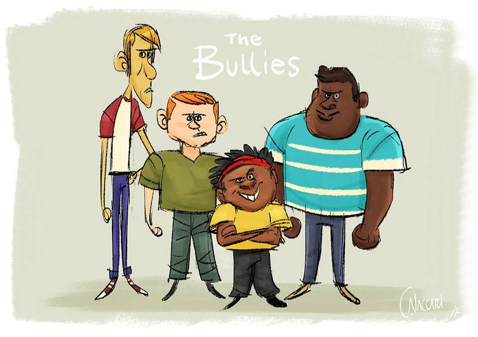 The Bullies by ClaudioNaccari
