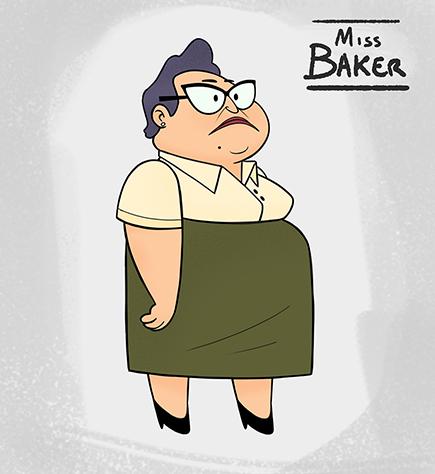 Miss Baker by ClaudioNaccari