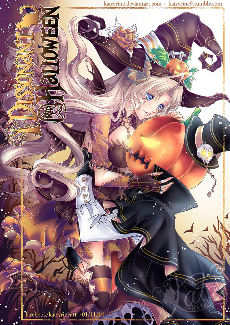 Dissonant Halloween 2014 by Katzyrine