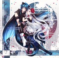 Com3: Zero and Sanyu by Katzyrine