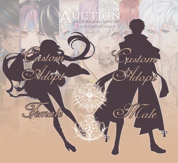 [Closed] Custom Adopts - Auction by Katzyrine