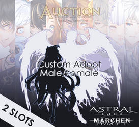 [Closed] Custom Adopts - Auction by Katzyrine