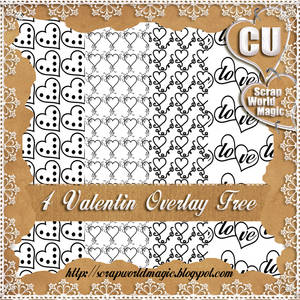 4 Valentin Overlay CU png Free