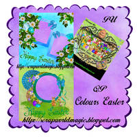 Colours Easter QuickPage png Free