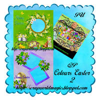 Colours Easter QuickPage 2 png Free
