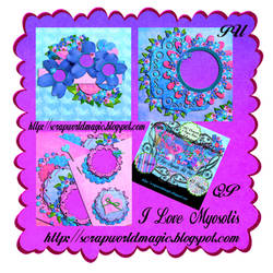 I Love Myosotis QuickPage png Free
