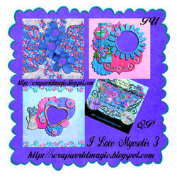 I Love Myosotis 3  QuickPage png Free