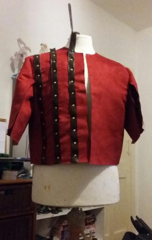 Witcher Eskel Coat progress by nanahara7