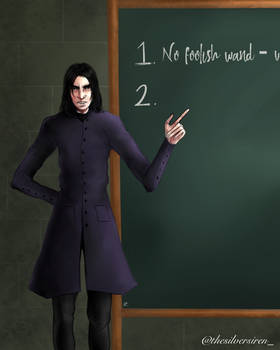 Severus Snape and The Very Important Lesson