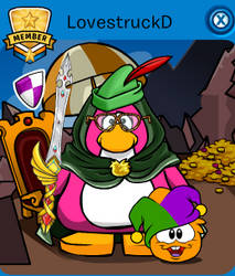 Club Penguin Medieval Party!!! by LovestruckDart