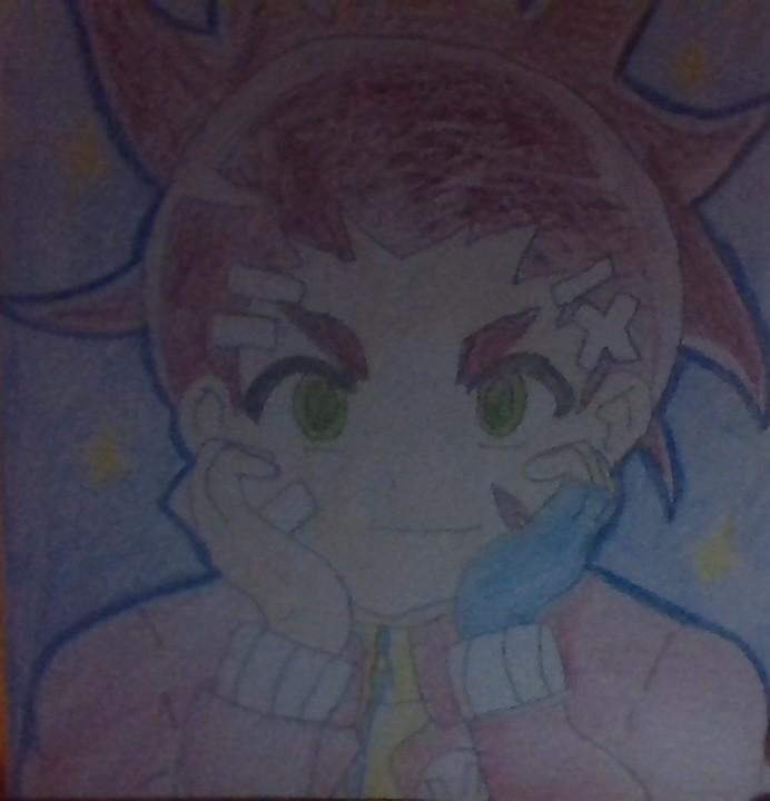 Aiger Akabane Coloring Page By Lovestruckdart On Deviantart