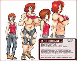 Jane O'Donnel by rententez