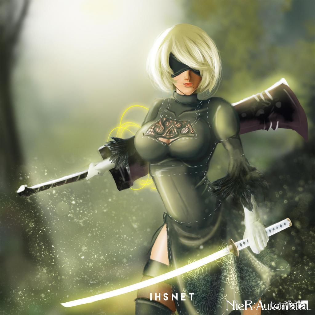 NieR Automata by Ihsnet