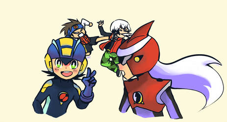 Megaman Battle Net..YAHHHHHHHH!! by Nippo