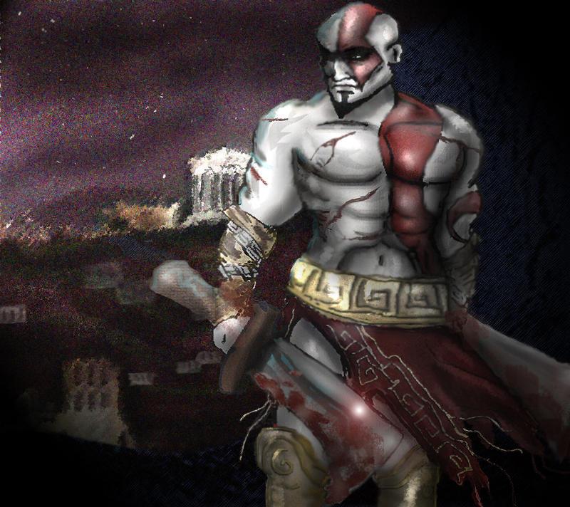 God of war ghost of sparta by elleprimadonna