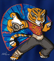Master Tigress by elleprimadonna