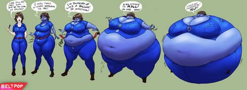 Carrie Blueberry Redux by beltpop
