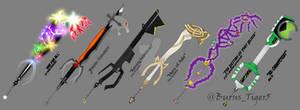 Keyblade Set #4