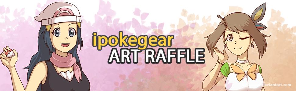 Art Raffle Banner 2018 by ipokegear
