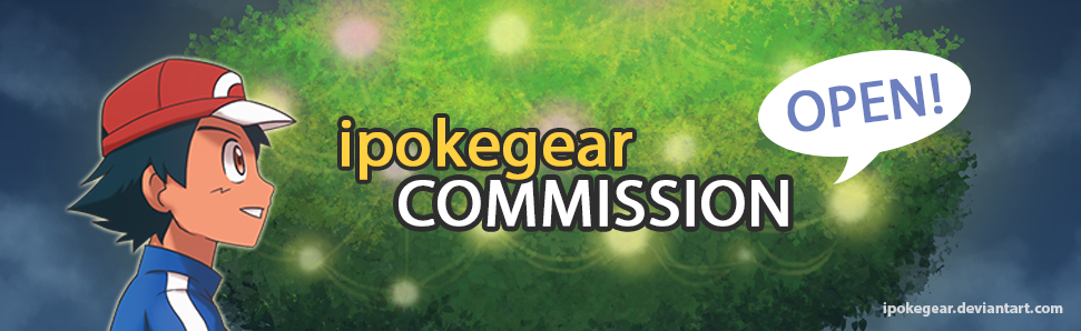 Commission Banner 2018 by ipokegear