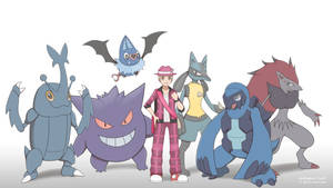 (Comm) Kyle - Pokemon Team