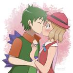 (Comm) Serena and Godzilla (OC)