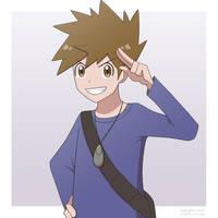 Pokemon Trainer Blue by ipokegear