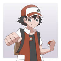 Pokemon Trainer Red by ipokegear