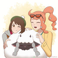Wooloo and the Girls