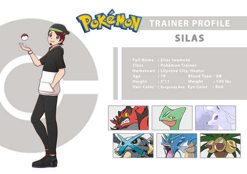 Trainer Profile - Silas