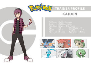 Trainer Profile - Kaiden