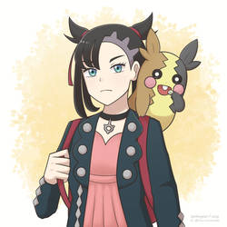 Marnie and Morpeko