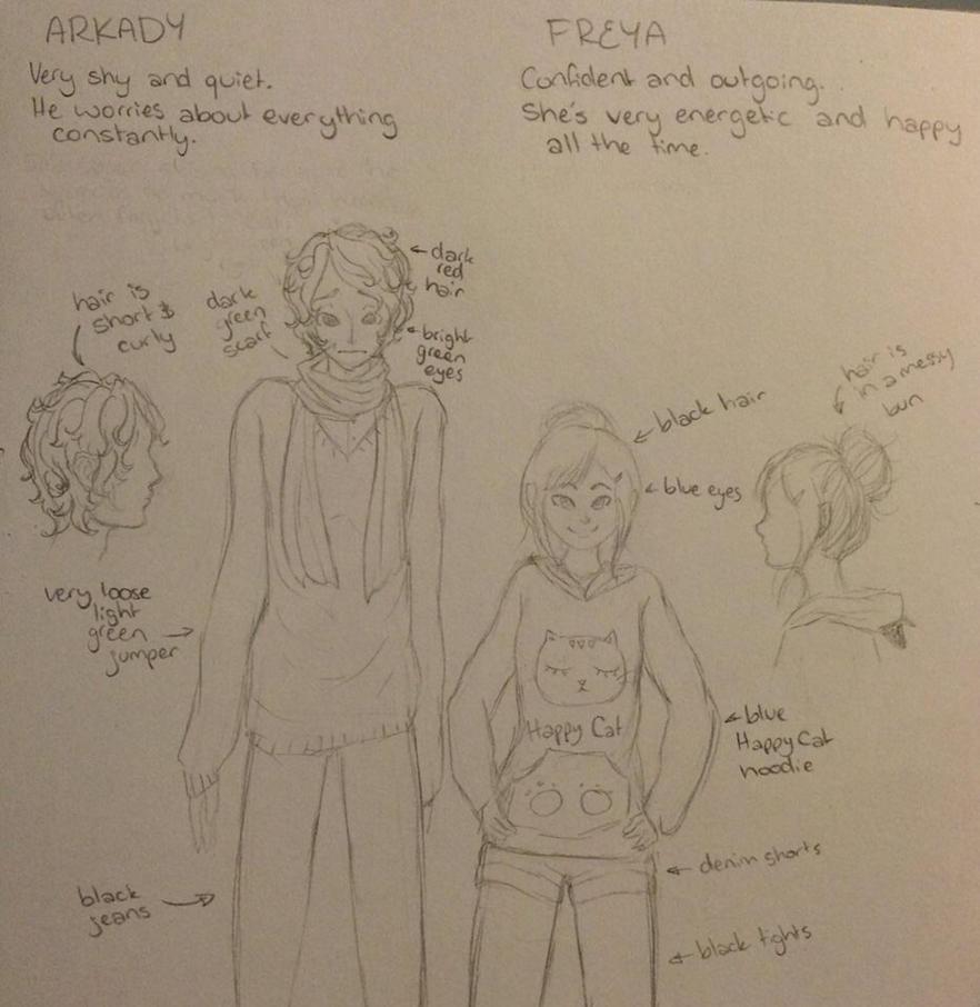Arkady and Freya by theSuzucorn