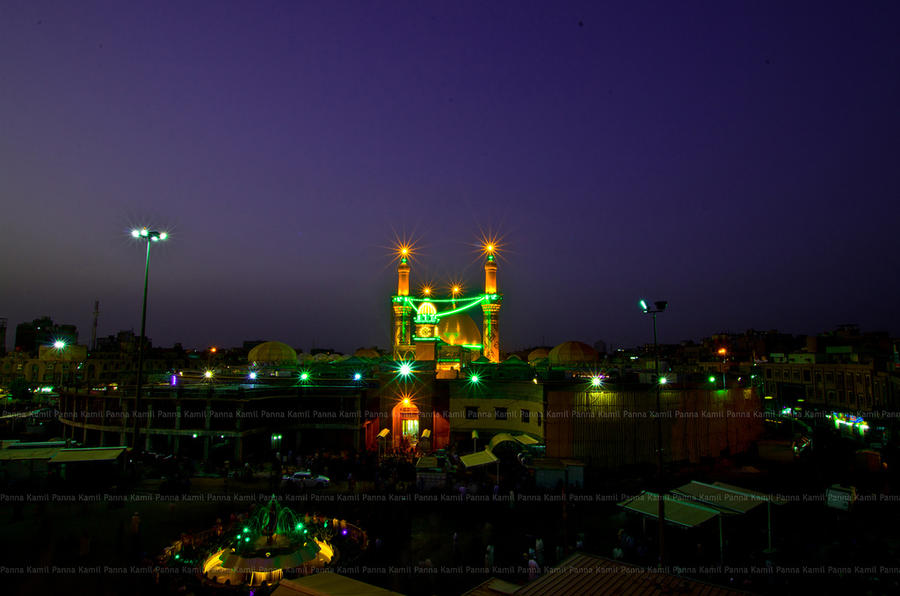 Non Muslim Perspective On The Revolution Of Imam Hussain: The Holy Shrine Of Al Abbas (as), Karbala, Iraq By Kpanna