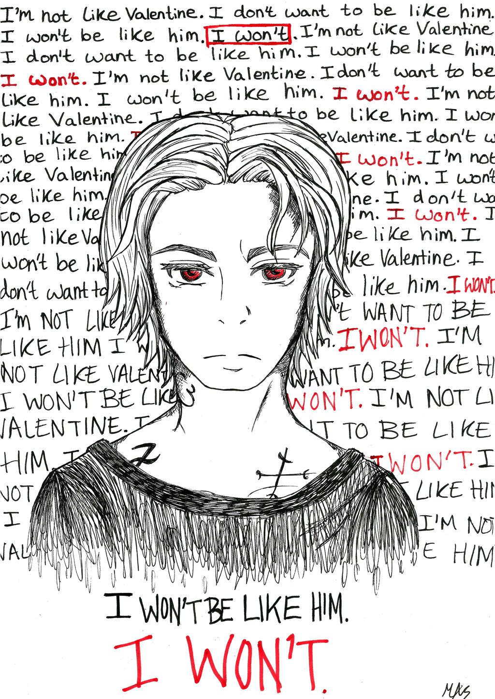 I Won't. by missanimestranger