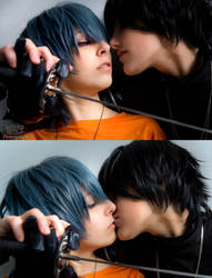 lovely Kiss by ZellinaHiwatari