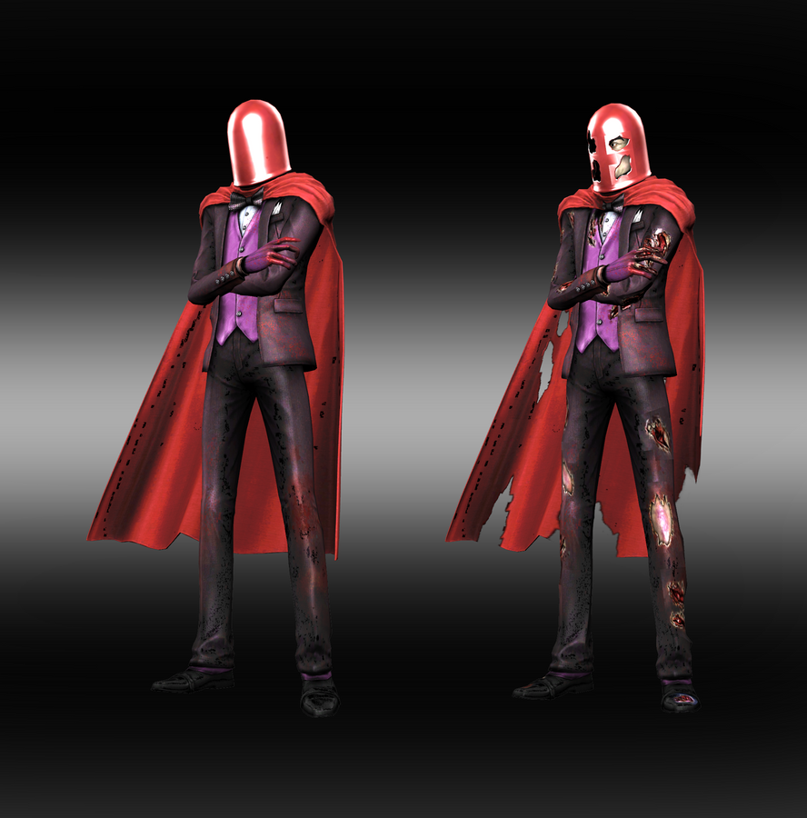 Injustice: Gods Among Us: Joker Red Hood by iK1L73r
