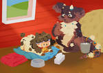 [StrudelCafe] - Barn Raising