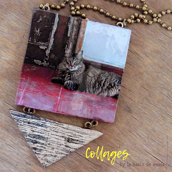 Necklaces Collares Collage by LaNarizDeAnais