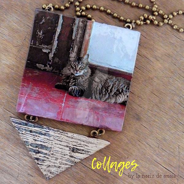 Necklaces Collares Collage by LaNarizDeAnais