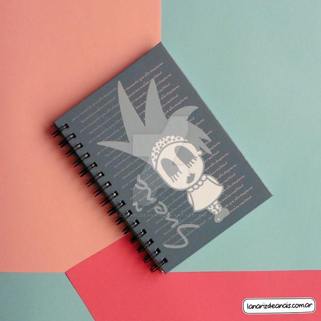 Notebook Sonia Dora by LaNarizDeAnais