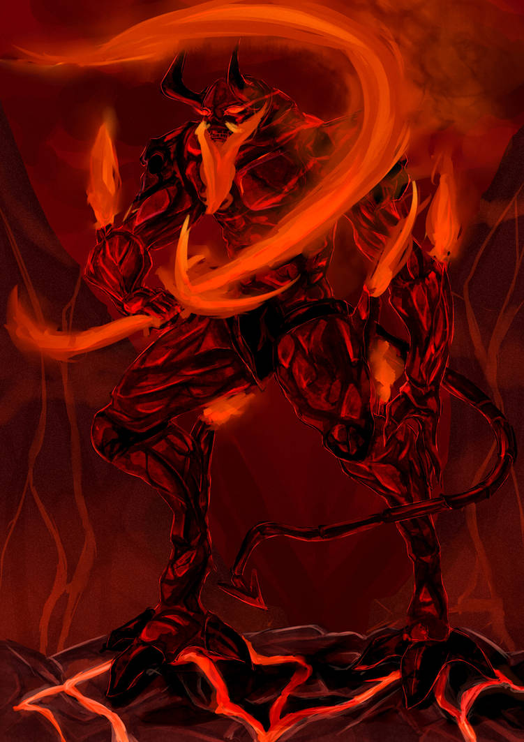 Flame Giant Surtr