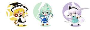 Petite Touhou -Heroine Pack- by moeroknight