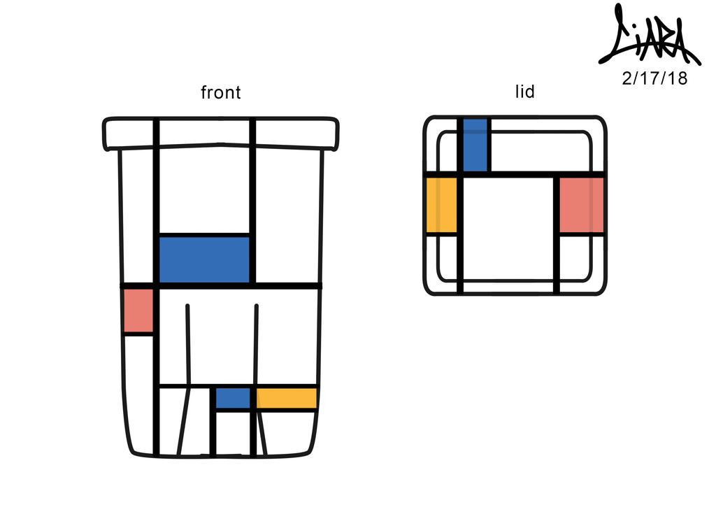 piet mondrian inspired by aznmushi019 on deviantart. Black Bedroom Furniture Sets. Home Design Ideas