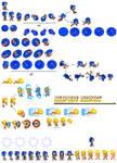 Sonic Adventure 2 sprites